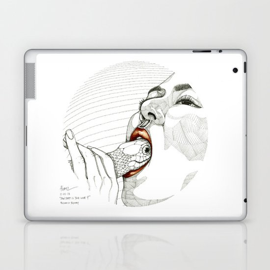 How deep is your love? Laptop & iPad Skin