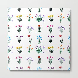 Little modest flowers  Metal Print