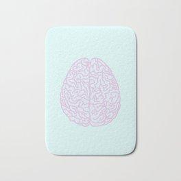 Pastel Brain Bath Mat