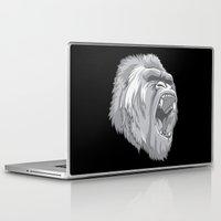 gorilla Laptop & iPad Skins featuring Gorilla by Taranta Babu