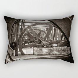 Dam Gears Rectangular Pillow