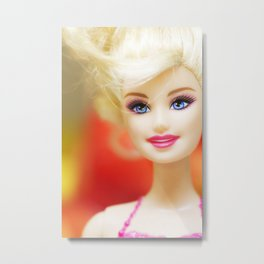 Role Model Barbie Metal Print