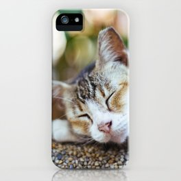 Peace Sleep iPhone Case