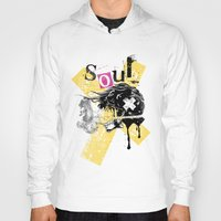 soul Hoodies featuring Soul by Tshirt-Factory