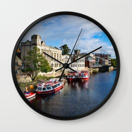York City Guildhall and river Ouse Wall Clock