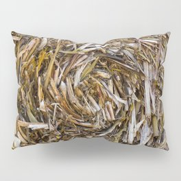 Rolled Hay Pillow Sham