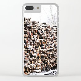 Stacked Clear iPhone Case