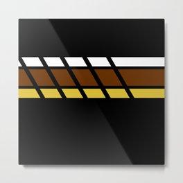 Team Colors...Beige,brown Metal Print