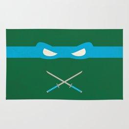 Blue Ninja Turtles Leonardo Rug
