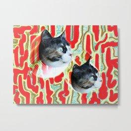 Cuca the Cat Metal Print