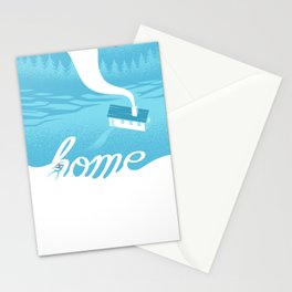 Home is everywhere Stationery Cards