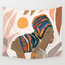 Women with the Turbans Wall Tapestry