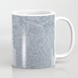 DC NYC London - Powder Blue Coffee Mug