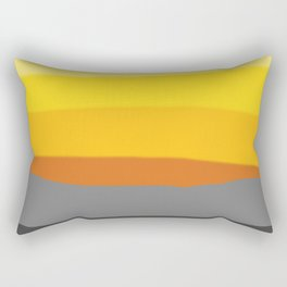 Lemon Sunset Rectangular Pillow