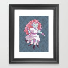 Octo Girl  Framed Art Print