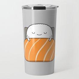 sleepy sushi Travel Mug