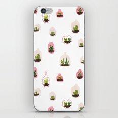pink terrariums iPhone & iPod Skin
