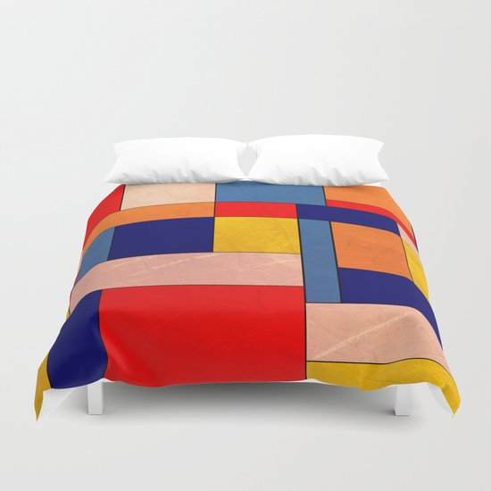Abstract #340 Duvet Cover