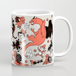 Fire-Types Coffee Mug