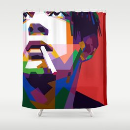 Matthew Healy Shower Curtain