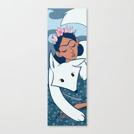 Frida Winter Canvas Print