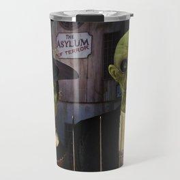 American Gothic Halloween Travel Mug