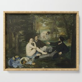 Luncheon on the Grass, Edouard Manet Serving Tray