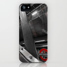 Monochrome Underground  iPhone Case