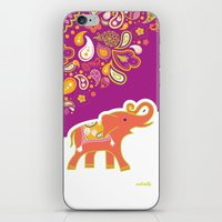 india iPhone & iPod Skins featuring India by ASerpico Designs