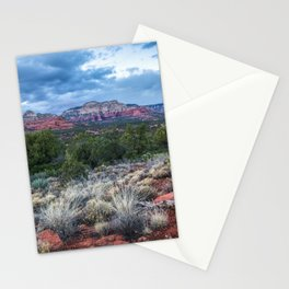 Sedona - Cool Vibes in the Desert Landscape in Northern Arizona Stationery Cards