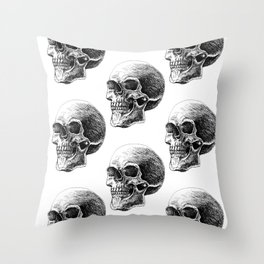 Skull pattern 2 Throw Pillow
