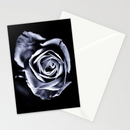 Silver Petals Stationery Cards