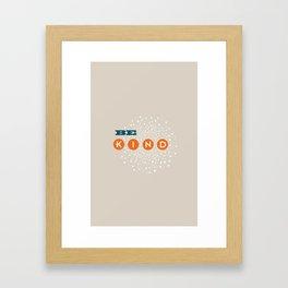 iphone light gray, Framed Art Print