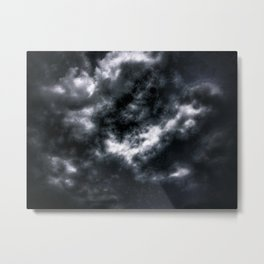 Dark Clouds Metal Print