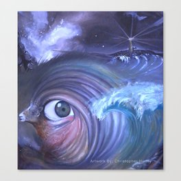 The Gaze of Aries Canvas Print