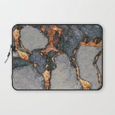 GREY & GOLD GEMSTONE Laptop Sleeve
