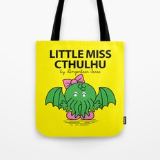 Little Miss Cthulhu Tote Bag