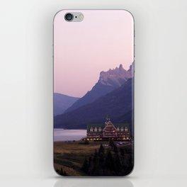 Waterton Lakes National Park Alberta Canada iPhone Skin