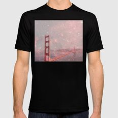 Stardust Covering San Francisco MEDIUM Black Mens Fitted Tee