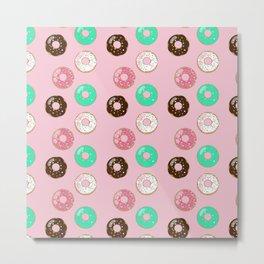 Donut Party Metal Print
