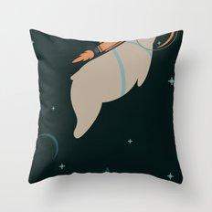 Cosmobear Throw Pillow