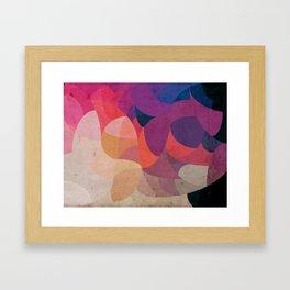 Curves - Celular Framed Art Print