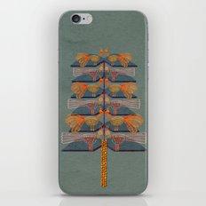 Lovebirds in a tree iPhone & iPod Skin