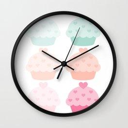 Delicious Cupcake Wall Clock
