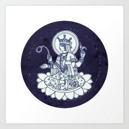 Deva Art Print