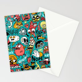 2019 New Year Pattern Stationery Cards