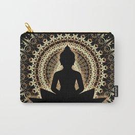 Meditating buddha Art Carry-All Pouch
