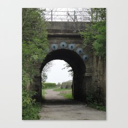 Bridge under the Railway Canvas Print