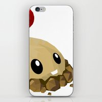 potato iPhone & iPod Skins featuring Potato Mine by Sharna Myers