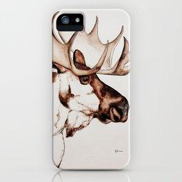Deer | Scandinavian Moose iPhone Case